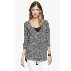 Express women's hi low sweater